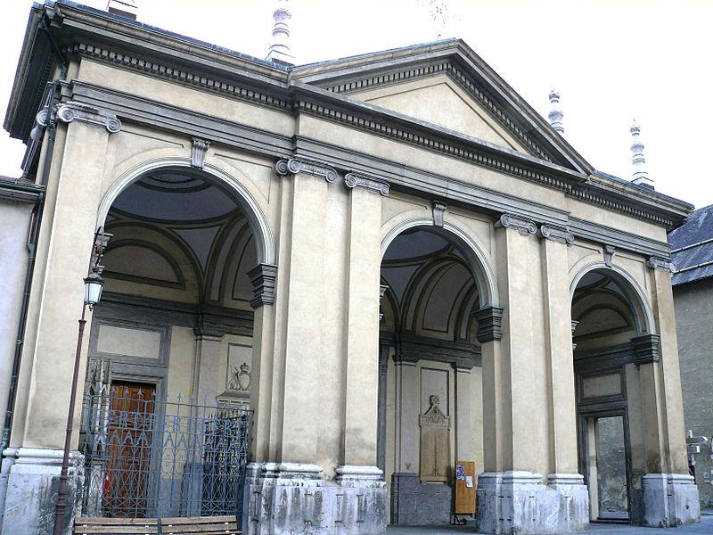 Photo du Monument Historique Cathédrale Saint-Jean situé à Saint-Jean-de-Maurienne