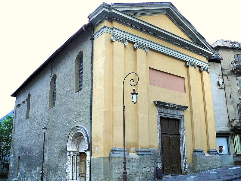 Photo du Monument Historique Eglise Notre-Dame situé à Saint-Jean-de-Maurienne