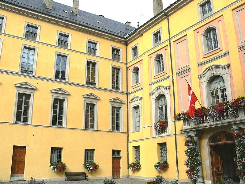 Photo du Monument Historique Evêché situé à Saint-Jean-de-Maurienne