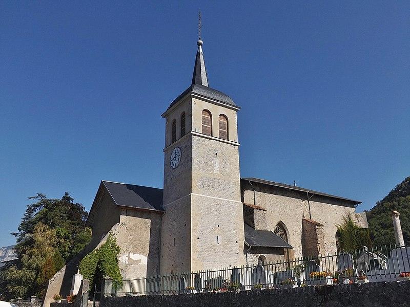Photo du Monument Historique Eglise du Prieuré situé à Saint-Jeoire-Prieuré