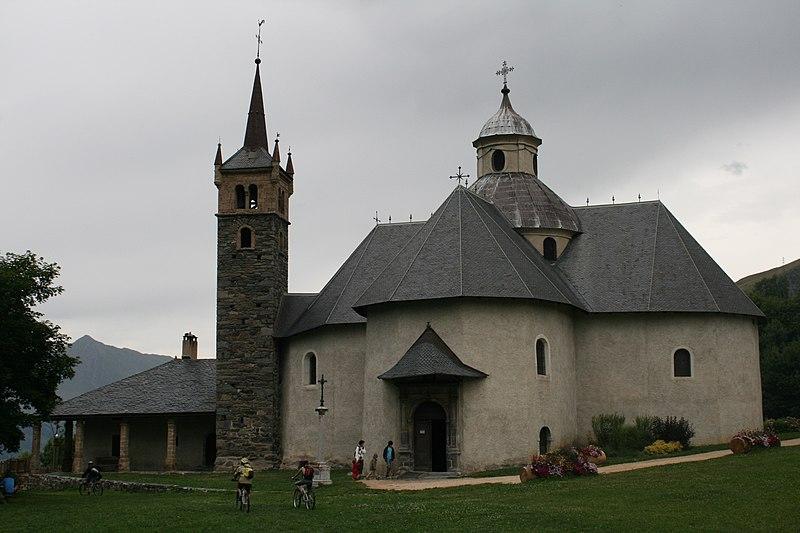 Photo du Monument Historique Chapelle Notre-Dame de la Vie situé à Saint-Martin-de-Belleville
