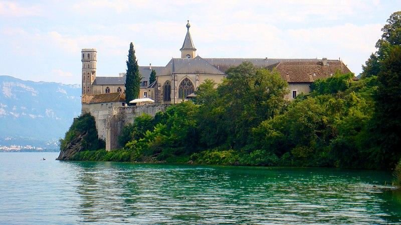 Photo du Monument Historique Abbaye de Hautecombe situé à Saint-Pierre-de-Curtille