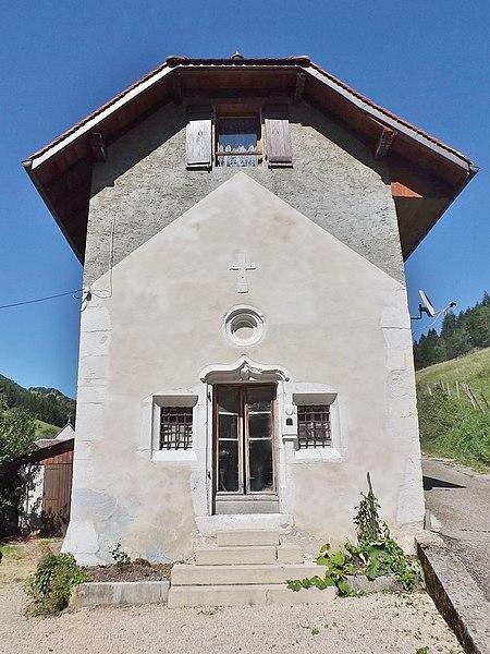 Photo du Monument Historique Chapelle des Dix Mille Martyrs situé à Saint-Pierre-d'Entremont