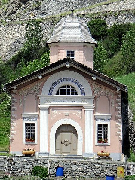 Photo du Monument Historique Chapelle de la Visitation situé à Termignon