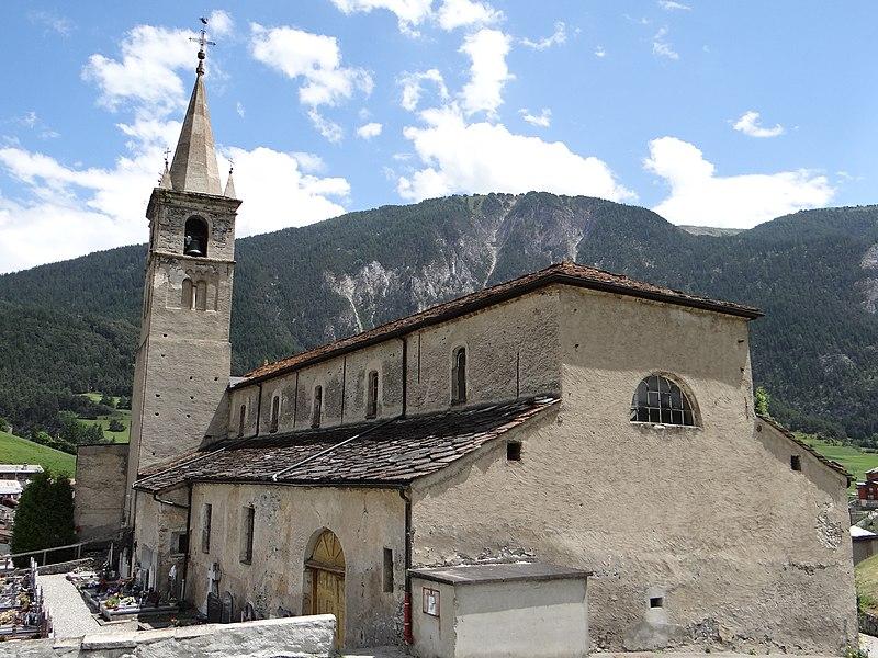 Photo du Monument Historique Eglise situé à Termignon