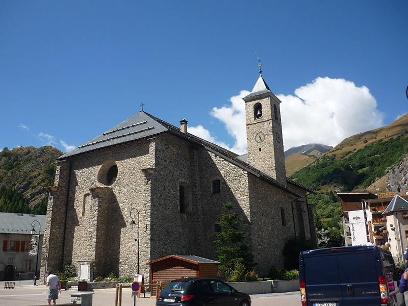 Photo du Monument Historique Eglise situé à Valloire