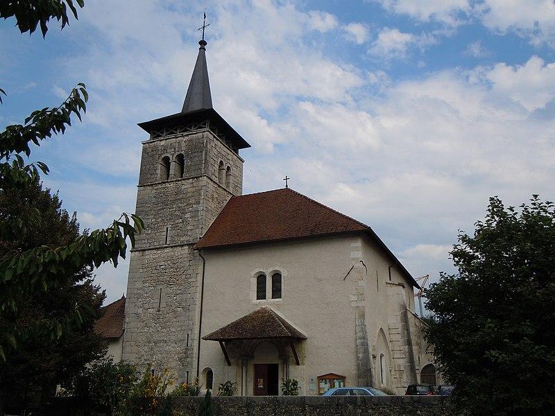 Photo du Monument Historique Eglise paroissiale Notre-Dame situé à Yenne