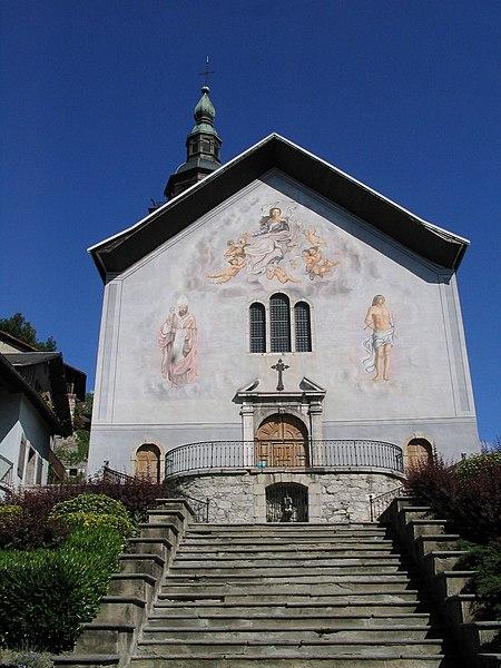 Photo du Monument Historique Eglise de Conflans situé à Albertville