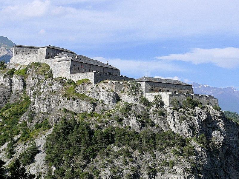 Photo du Monument Historique Forts de l'Esseillon : Fort Victor-Emmanuel situé à Aussois