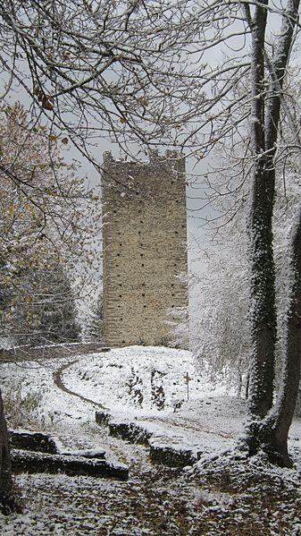 Photo du Monument Historique Tours de Montmayeur situé à Villard-Sallet