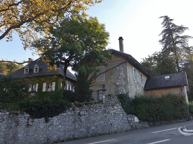 Photo du Monument Historique Domaine de Vidonne situé à Chambéry