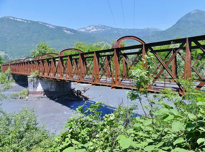 Photo du Monument Historique Pont Victor-Emmanuel dit Pont des Anglais situé à Cruet