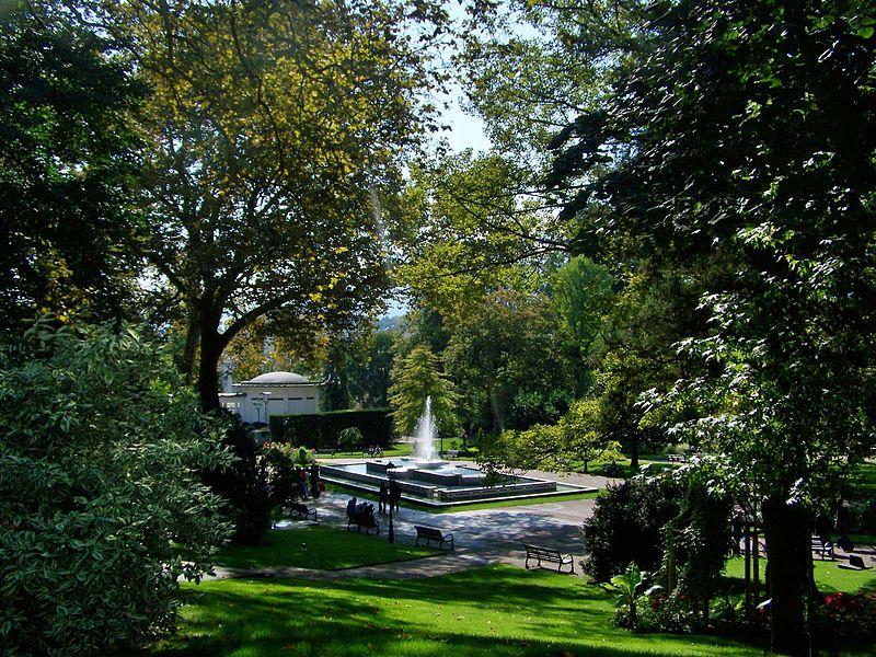 Photo du Monument Historique Parc thermal situé à Aix-les-Bains