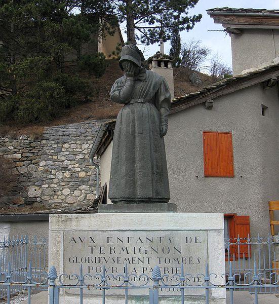 Photo du Monument Historique Monument aux morts situé à Termignon