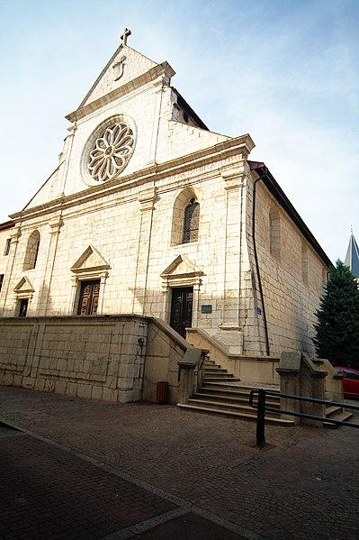 Photo du Monument Historique Cathédrale situé à Annecy