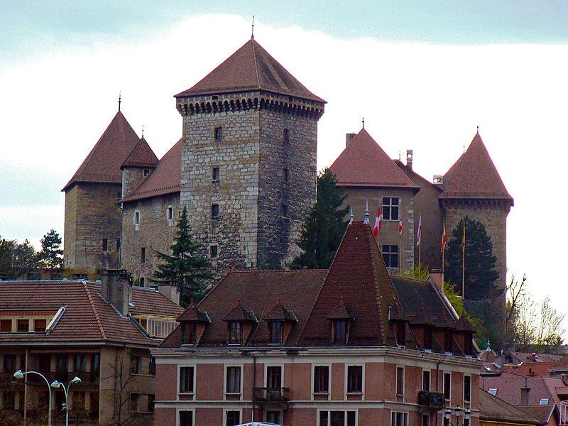Photo du Monument Historique Château situé à Annecy