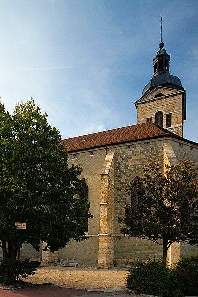 Photo du Monument Historique Eglise Saint-Maurice situé à Annecy