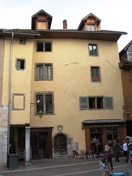 Photo du Monument Historique Magasin situé à Annecy