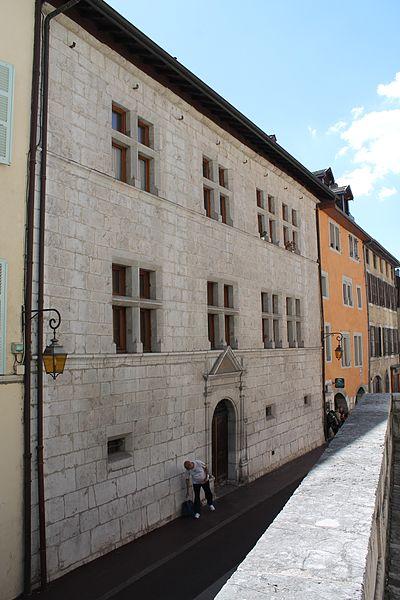 Photo du Monument Historique Maison Lambert situé à Annecy