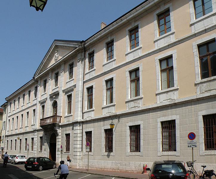 Photo du Monument Historique Palais épiscopal situé à Annecy
