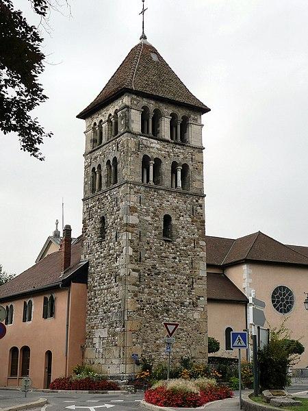Photo du Monument Historique Eglise situé à Annecy-le-Vieux