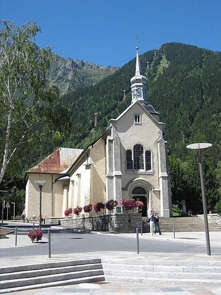 Photo du Monument Historique Eglise Saint-Michel situé à Chamonix-Mont-Blanc