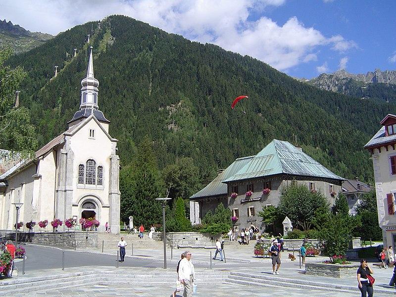 Photo du Monument Historique Presbytère situé à Chamonix-Mont-Blanc