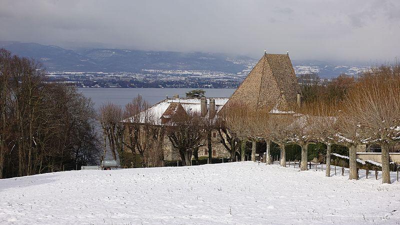 Photo du Monument Historique Château de Beauregard situé à Chens-sur-Léman