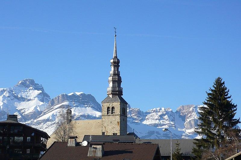 Photo du Monument Historique Eglise situé à Combloux