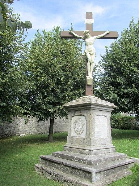 Photo du Monument Historique Cimetière situé à Contamine-sur-Arve