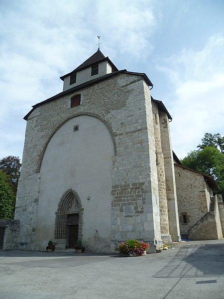 Photo du Monument Historique Eglise situé à Contamine-sur-Arve
