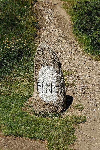 Photo du Monument Historique Borne frontière romaine dite Fines situé à Cordon