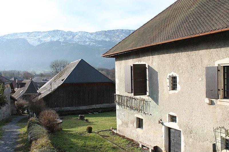 Photo du Monument Historique Maison Blain situé à Doussard