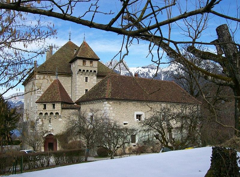 Photo du Monument Historique Château d'Héré situé à Duingt