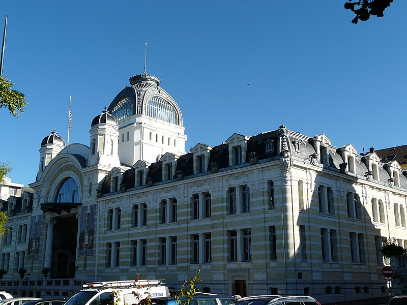 Photo du Monument Historique Ancien établissement thermal situé à Evian-les-Bains