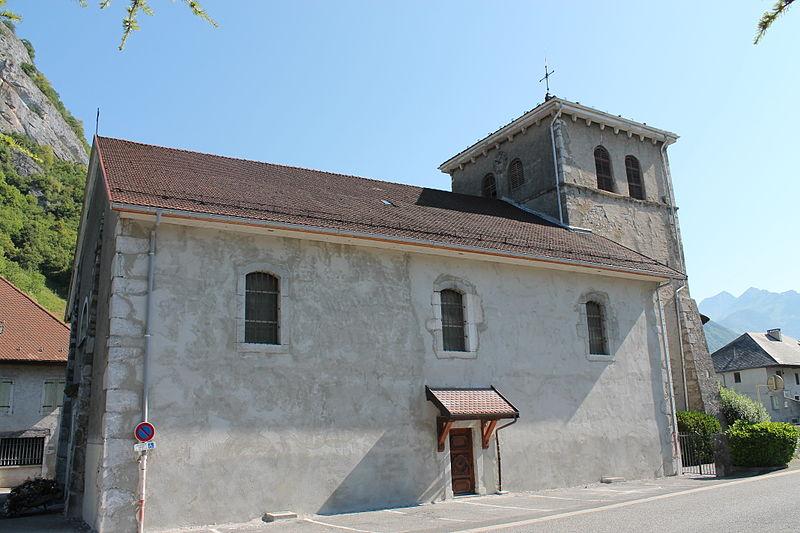 Photo du Monument Historique Eglise de Viuz-Faverges situé à Faverges