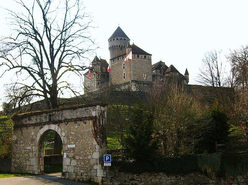 Photo du Monument Historique Château de Montrottier situé à Lovagny