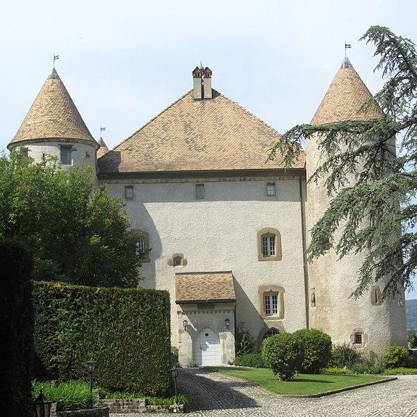 Photo du Monument Historique Château de Buffavent situé à Lully