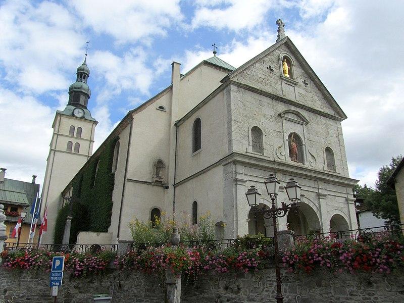 Photo du Monument Historique Eglise situé à Megève