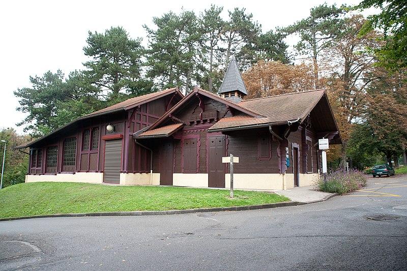 Photo du Monument Historique Funiculaire d'Evian-les-Bains à Neuvecelle situé à Neuvecelle