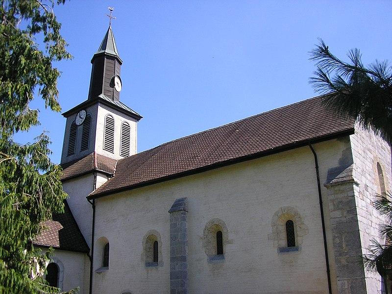 Photo du Monument Historique Eglise situé à Peillonnex