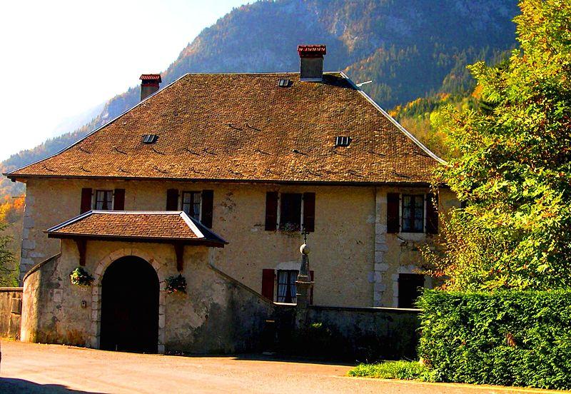 Photo du Monument Historique Presbytère situé à Le Petit-Bornand-les-Glières