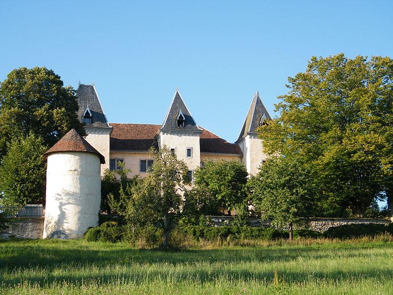 Photo du Monument Historique Château de Promery situé à Pringy