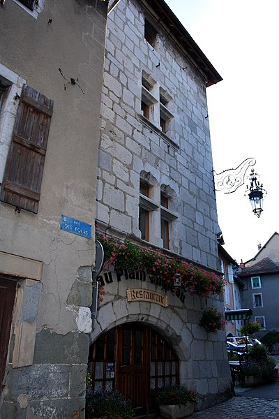 Photo du Monument Historique Immeuble situé à La Roche-sur-Foron