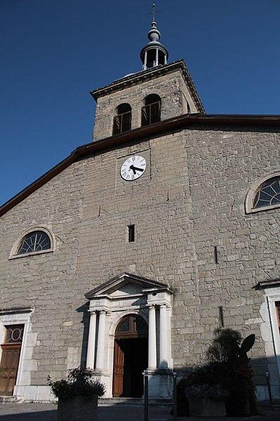Photo du Monument Historique Eglise Sainte-Agathe situé à Rumilly