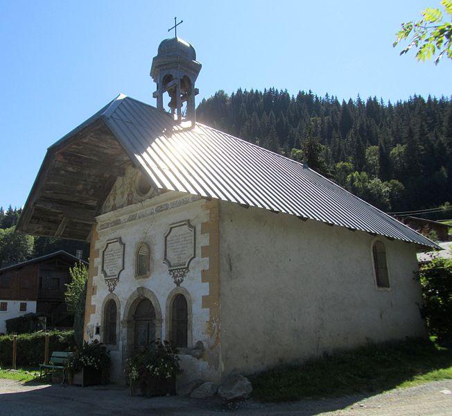 Photo du Monument Historique Chapelle des Chattrix situé à Saint-Gervais-les-Bains