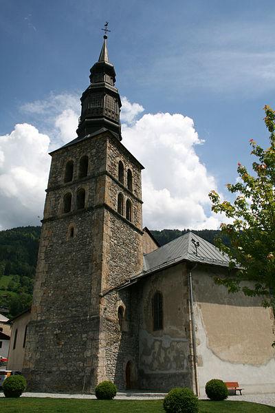 Photo du Monument Historique Eglise Saint-Gervais Saint-Protais situé à Saint-Gervais-les-Bains