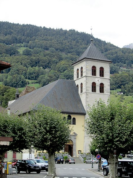 Photo du Monument Historique Eglise situé à Sallanches