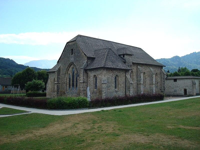 Photo du Monument Historique Abbaye de Mélan situé à Taninges