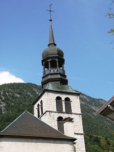 Photo du Monument Historique Eglise situé à Thônes